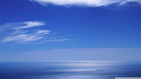 Calming Blue | download calm ocean and blue sky wallpaper 1920x1080