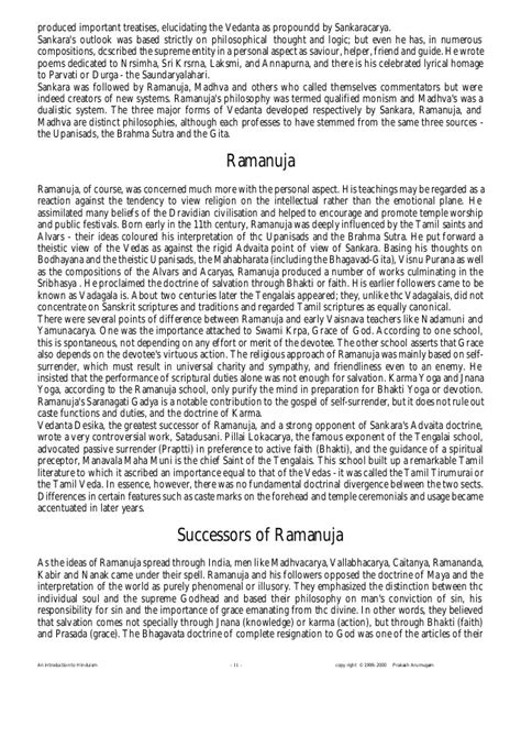 Hinduism Essays by Hinduism Essay Thesis