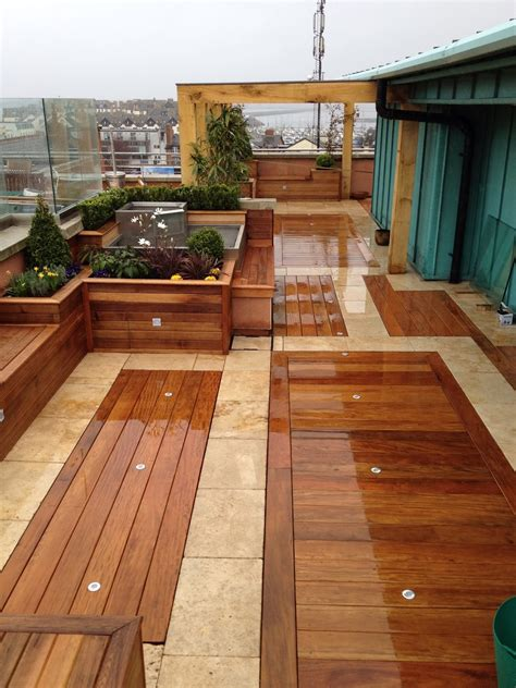 types of balcony floor tiles design