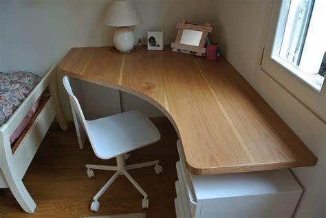 scrivania pc angolare scrivania angolare su misura legno di rovere baistrocchi