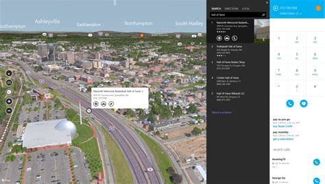 big maps maps adds 3d imagery and skype integration