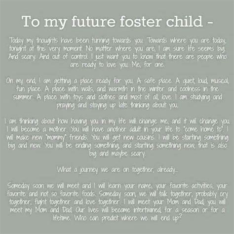 appreciation letter to foster parents 1477 best images about adoption quotes on