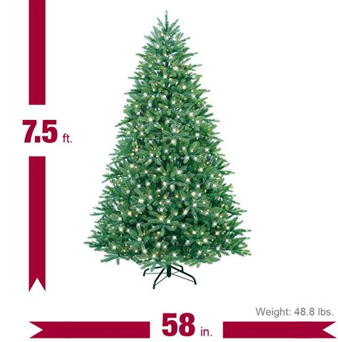 75 ft just cut norway spruce ez light artificial christmas tree with 800 color lights top 28 ge ez light tree replacement bulbs best 28 ge ez light tree