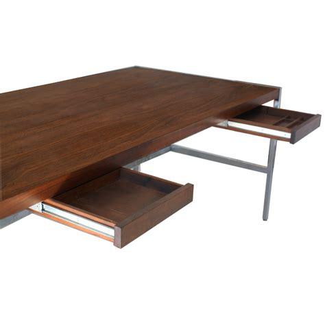 6ft Vintage Jasper Rosewood Chrome Desk Table Ebay Jasper Desk