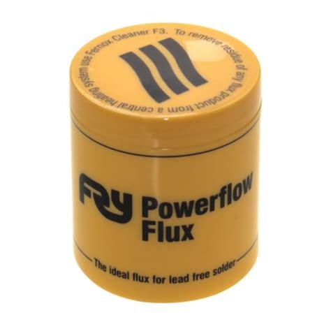 Plumbing Flux powerflow flux breson fittings ltd