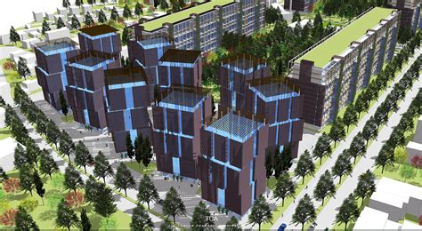 urban design housing 199 anakkale municipality social housing area urban renewal competition project tca