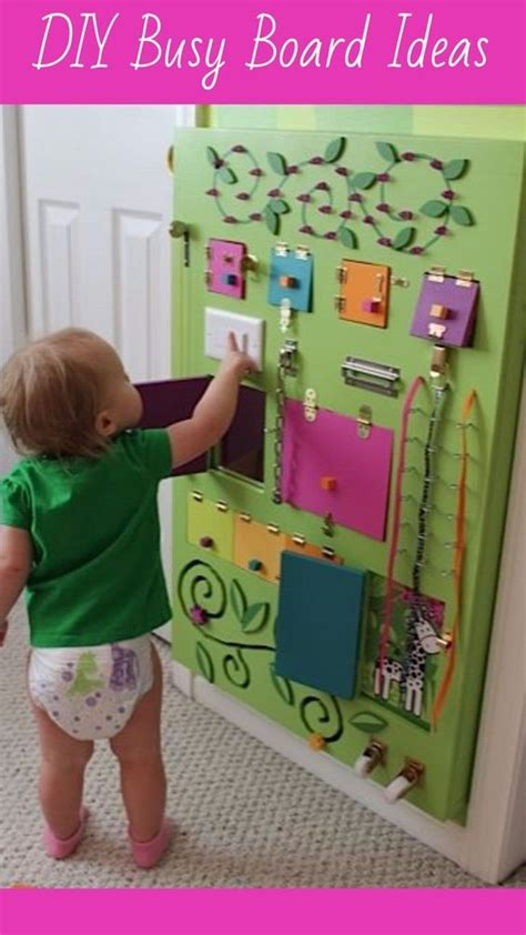 17 Best Ideas About Toddler 17 Of 2017 S Best Toddler Busy Board Ideas On