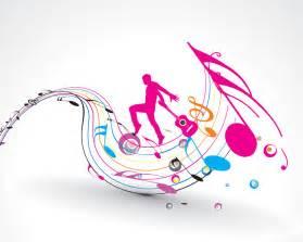 designing theme song フリーイラスト素材 イラスト 記号 シンボル マーク 音楽 楽譜 音符 人物 シルエット