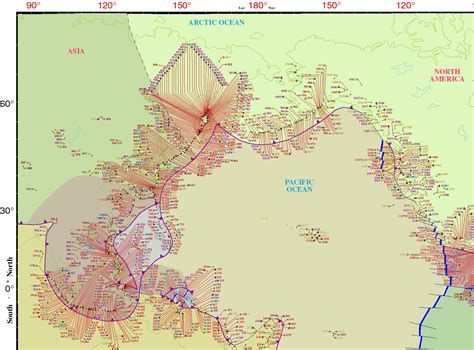 america volcano map world volcanism maps