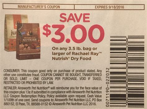 rachael puppy food nutrish food coupon dogs for sale
