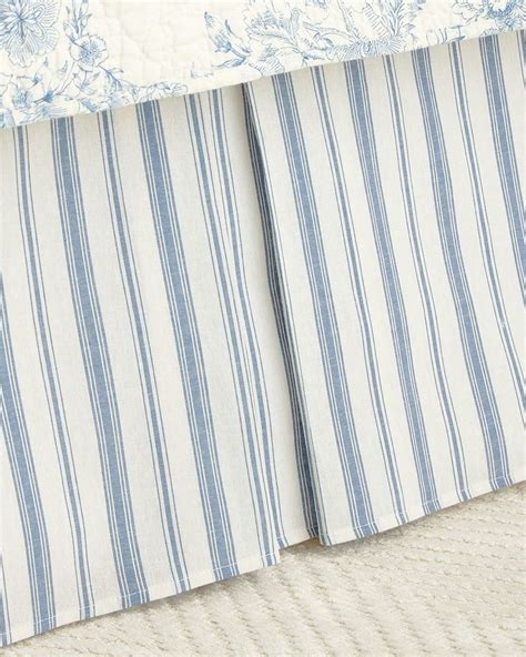 striped bed skirts striped bed skirts 28 images indigo and white striped bed skirt from 41 winks