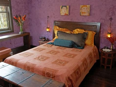 purple and orange bedroom photo page hgtv