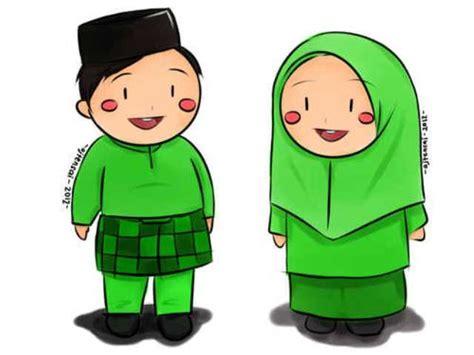 gambar kartun muslim laki galeri gambar dan foto kumpulan gambar kartun lucu berpasangan
