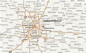 independence map independence location guide