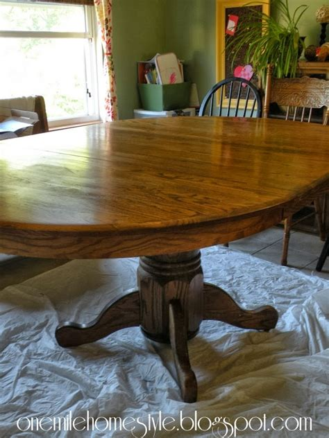 Dining Table Oak Dining Table Refinish Refinish Dining Table