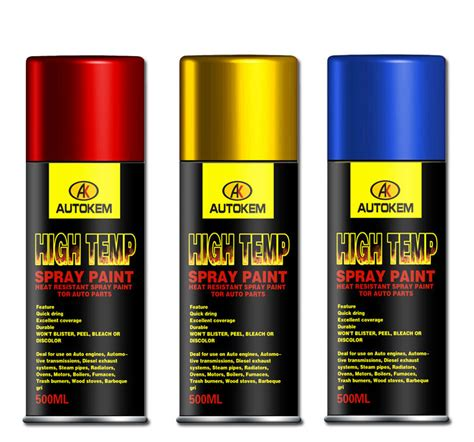 high temp paint colors automotive and industrial high temperature spray paint