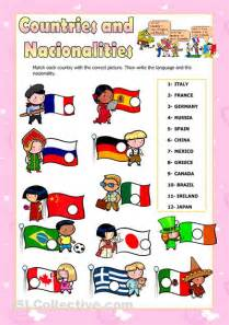 countries and nationalities 2 seymacetinkaya