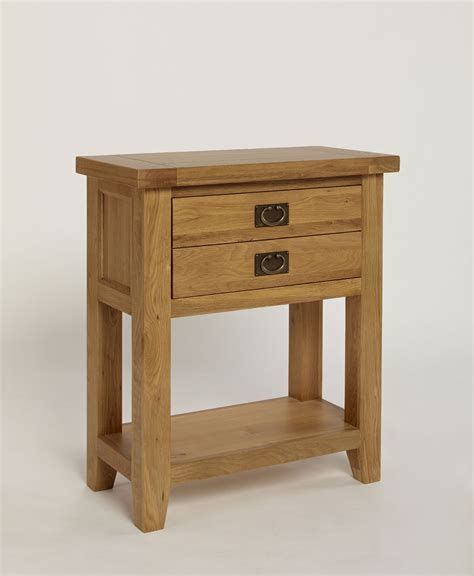 Small Oak Console Table Chiltern Grand Oak Small Console L Table Oak Furniture Solutions