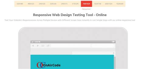 design online exam website website responsive design test on air code