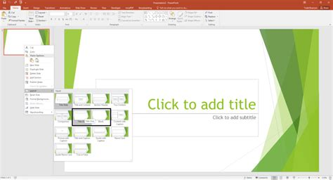 how to change layout design in powerpoint pivot tables in powerpoint by kasper langmann