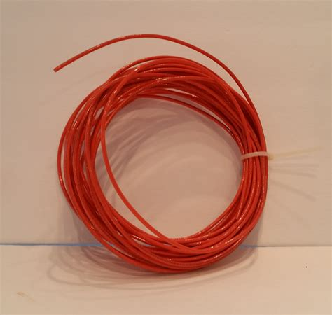 electrical wire 14 orange wire