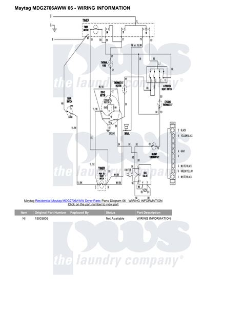 maytag dryer wiring diagram mdg6700aww maytag dryer motor