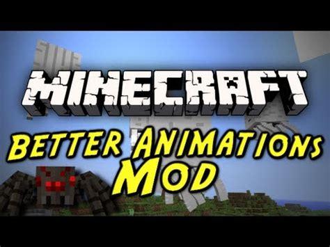 minecraft better animations mod minecraft mod showcases better animations mod