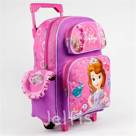 Disney Sofia Large Backpack disney sofia the rolling backpack friends 16