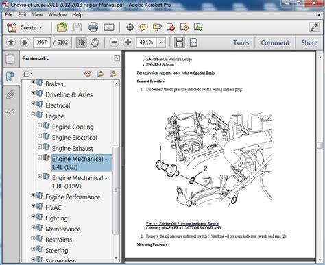 service repair manual free download 2013 chevrolet cruze on board diagnostic system chevrolet cruze 2011 2012 2013 repair manual
