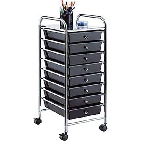 staples whalen rolling storage organizer 8 drawer cart