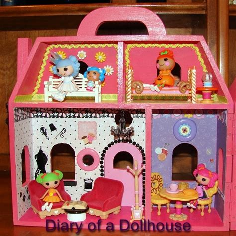 lalaloopsy doll houses i created my own lalaloopsy mini doll house diary of a dollhouse