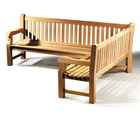 corner outdoor bench balmoral chunky corner garden bench 5 6 seater right