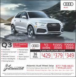 Audi Q3 Lease Deals Audi Q3 Lease Specials West Islip New York 11795