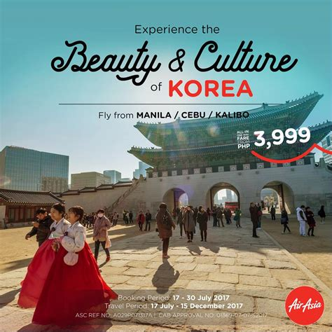 airasia korea beauty and culture of korea at air asia for only php3 999