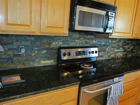slate backsplashes for kitchens beautiful slate kitchen backsplashes pictures with