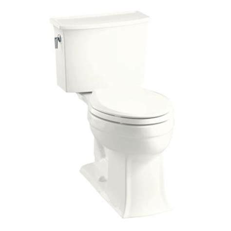 Comfort Toilets Home Depot by Kohler Archer Comfort Height 2 Elongated Toilet In