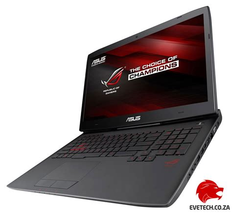 Asus Rog Laptop 32gb Ram buy asus rog g751jt i7 gaming laptop with 32gb ram at evetech co za