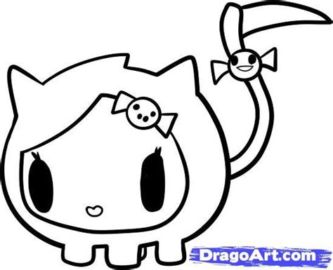 donutella coloring page tokidoki coloring pages coloring home