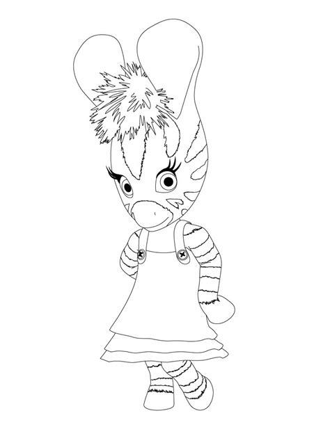 dibujos para pintar zou la cebra zou la cebra para imprimir zou para colorear pintar e imprimir