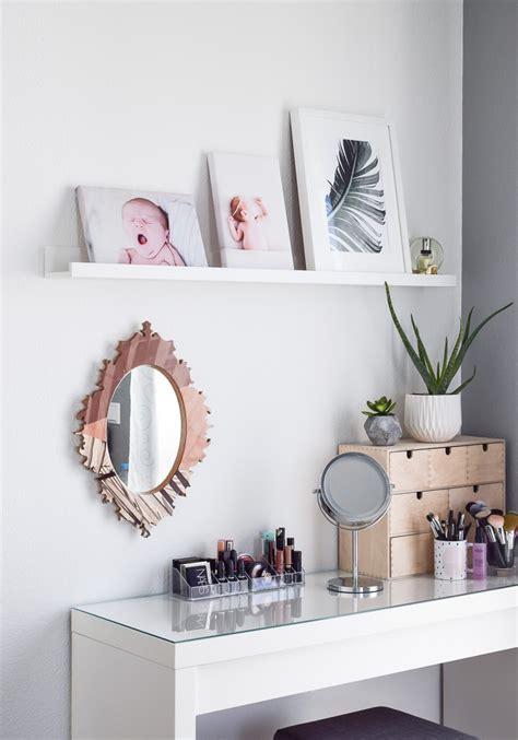 schminktisch spiegel ikea schminktisch ideen 5 tipps f 252 r aufbewahrung deko