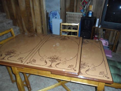 antique metal kitchen table vintage metal top kitchen table collectors weekly