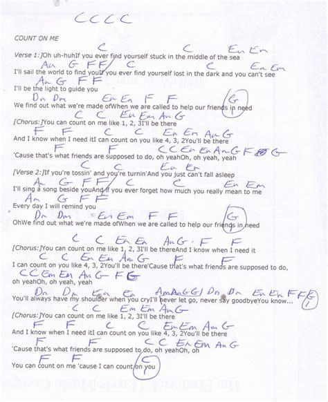 Talkingchord Bruno Mars Count On Me Chords Kotaksurat