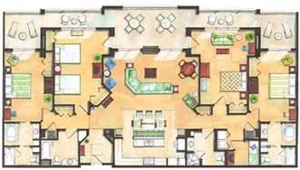summer bay resort orlando floor plan holiday inn club vacations chalet pinterest bedroom