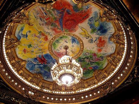 Opera Garnier Plafond by Une Table Avec Vue Dans L Appartement De Marc Chagall