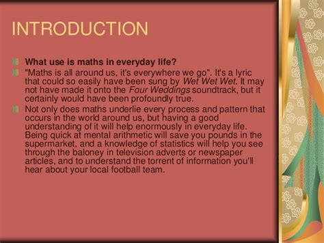 Maths In Daily Essay by Mathematics In Daily By Paras