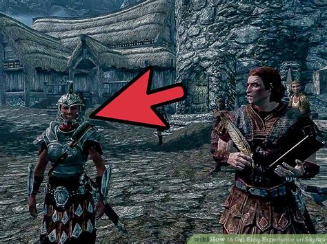 how to get a in skyrim how to get easy experience on skyrim 9 steps with pictures