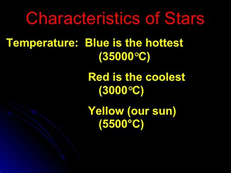 what color are the coolest and galaxies