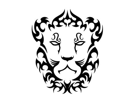 tribal lioness tattoo leo images designs