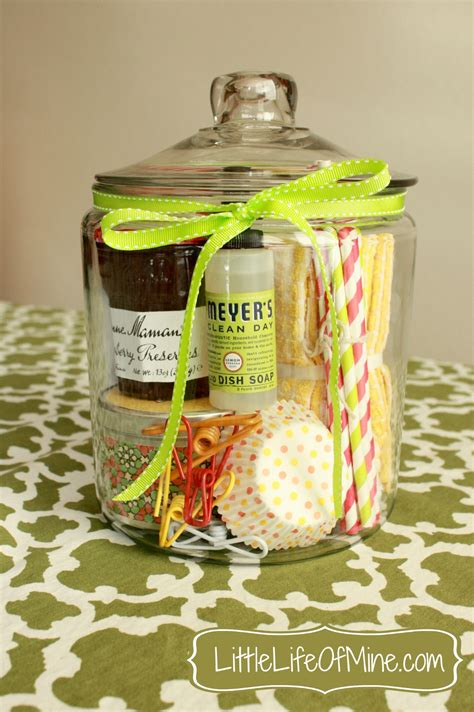 fun housewarming gifts housewarming gift in a jar littlelifeofmine com