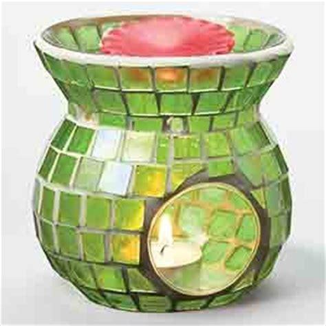 T Light Candle Isi 10 Untuk Burner Spa Khas Bali Mosaic Tart Burner Light Green Home Kitchen